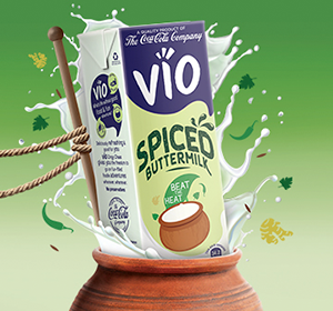 Beat the Heat this Summer with VIO Spiced Buttermilk